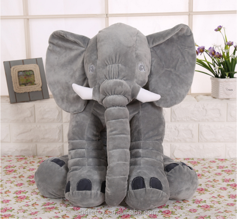 Big toy or custom size and color plush toy elephant