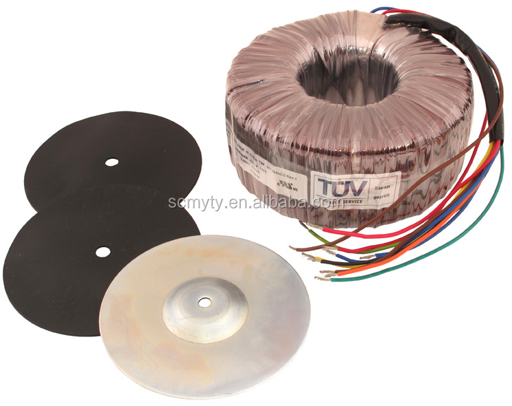 TIANYI 600VA High Isolation Toroidal Transformer 100/120/220/240v to 110v at 5 Amps