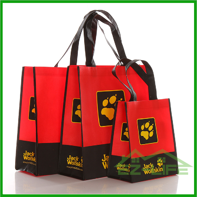 2017 Cheapest price promotional bags shopping bags non woven bags