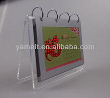 Creative Design Custom Promotional Innovative Blank Calendar 2014