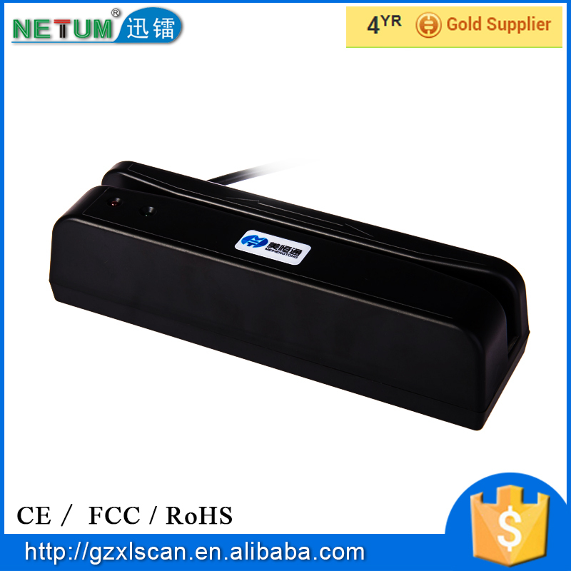 NT-400 manufacture cheap swipe magnetic card readers android magnetic MSR with good quality
