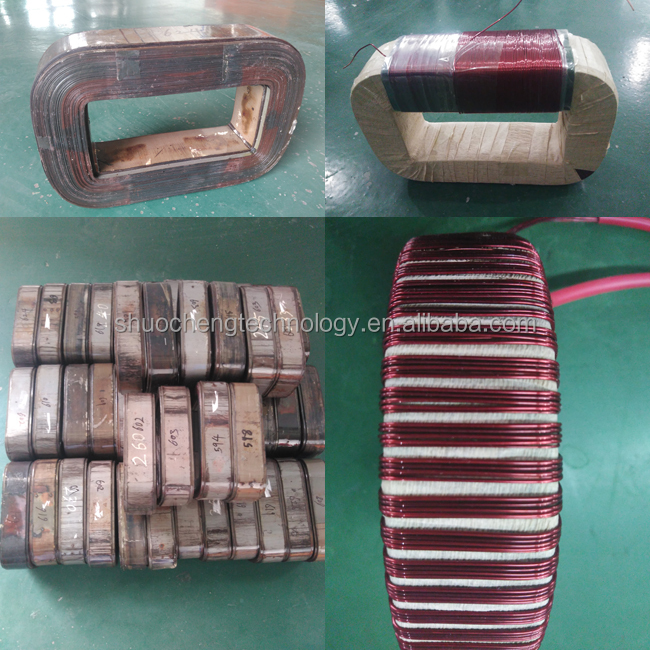 High frequency silicon steel transformer ferrite core
