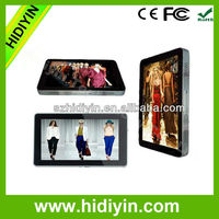 "22"" LCD/LED advertising display player use in hotel/Elevator/Hospital/shopping mall"