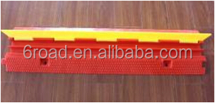 Europ Two Channels Red PE PVC cable protector