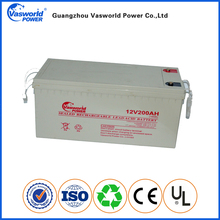12V 24V 200Ah Maintainance Free Lead Acid Lead-Acid recharge VRLA UPS Deep Cycle Gel Battery For Solar PV Power Storage
