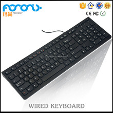 Wired Keyboard Top selling Ultra-thin USB 2.0 Mini Multimedia teclado usb para pc for Laptop