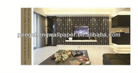 Specail design bamboo fiber material wallpaper in 2013