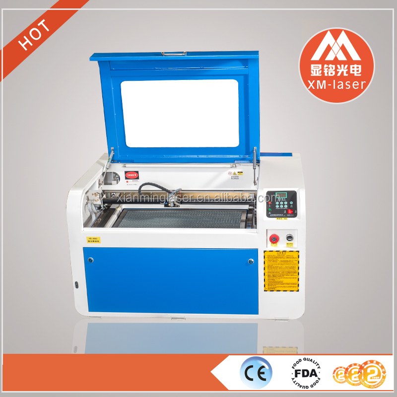 Professional and high quality Co2 laser cutting engraving machine6040 factory