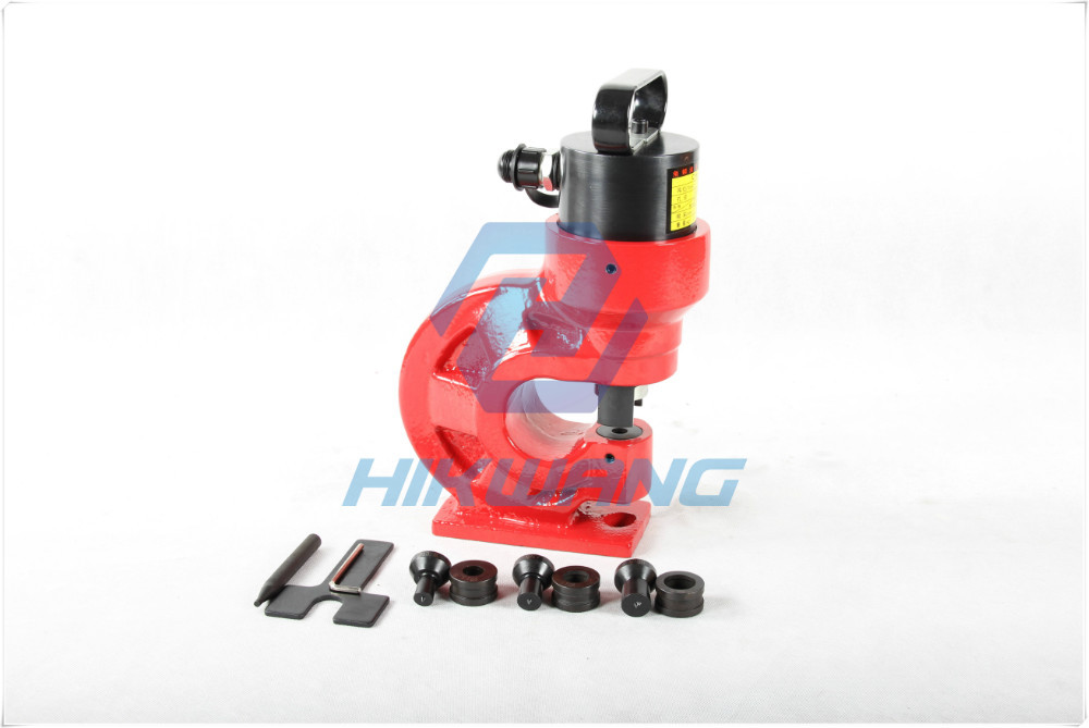 square hole punch tool hydraulic hole making tool
