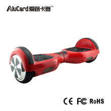 2016 AluCard factory direct price electric scooter 2 wheel smart balance wheel 18 km per hour new product 2016