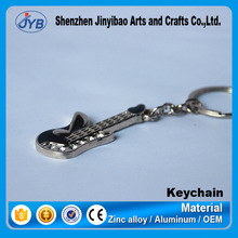 cheap promotion cute mini guitar keychain for giveaway gifts