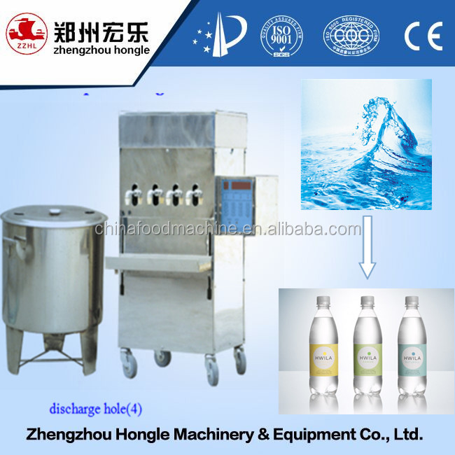 mineral water plant machinery cost filling machine