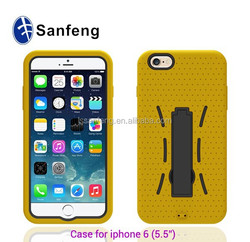 Fancy mobile covers for iphone 6 plus robot case fashional design cheap