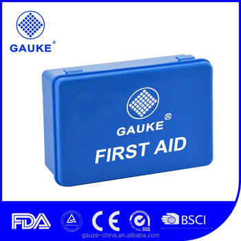 GAUKE DIN13164 Germany Standard Car First Aid Kit First Aid Device