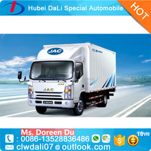 JAC 2 ton small mobile box refrigerated van truck