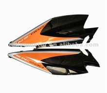 Plastic Side Covers Motorcycle Parts, TX200, High quality