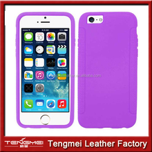 FOR APPLE IPHONE 6 PURPLE SILICONE SOFT SKIN CASE COVER
