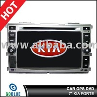 7 inch car dvd player speical for KIA FORTE with high resolution digital touch screen ,gps ,bluetooth,TV,radio,ipod