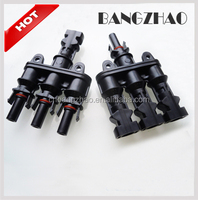 MC4 Connector Solar Panel T Branch 3 Male to 1 Female Cable Connectors