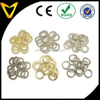 Wholesale Scarf Jewelry Accessory 6 Design Rings Slides