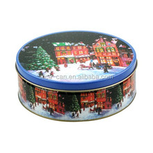 Custom Christmas Metal Mint Tin Boxes For Cookies