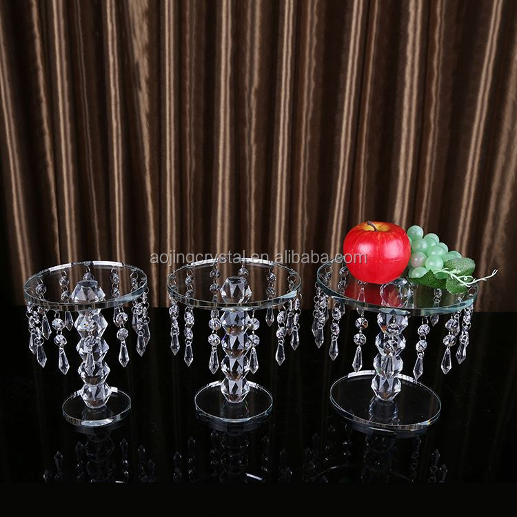 New coming trendy style acrylic wedding table decoration with good prices