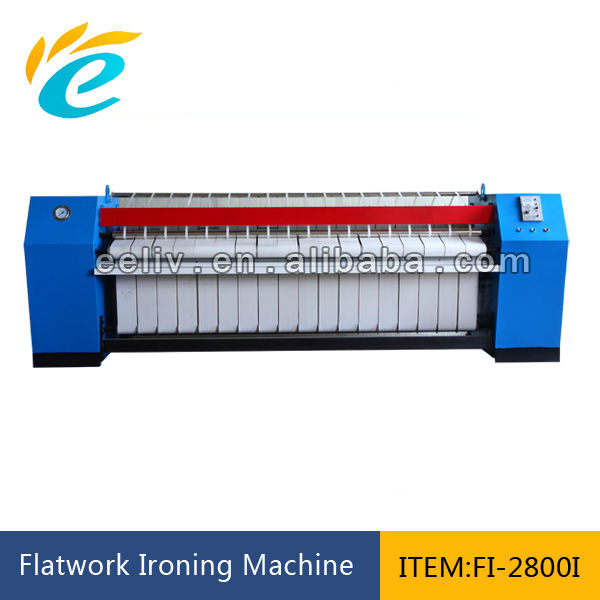 bed sheets flatwork ironing machine