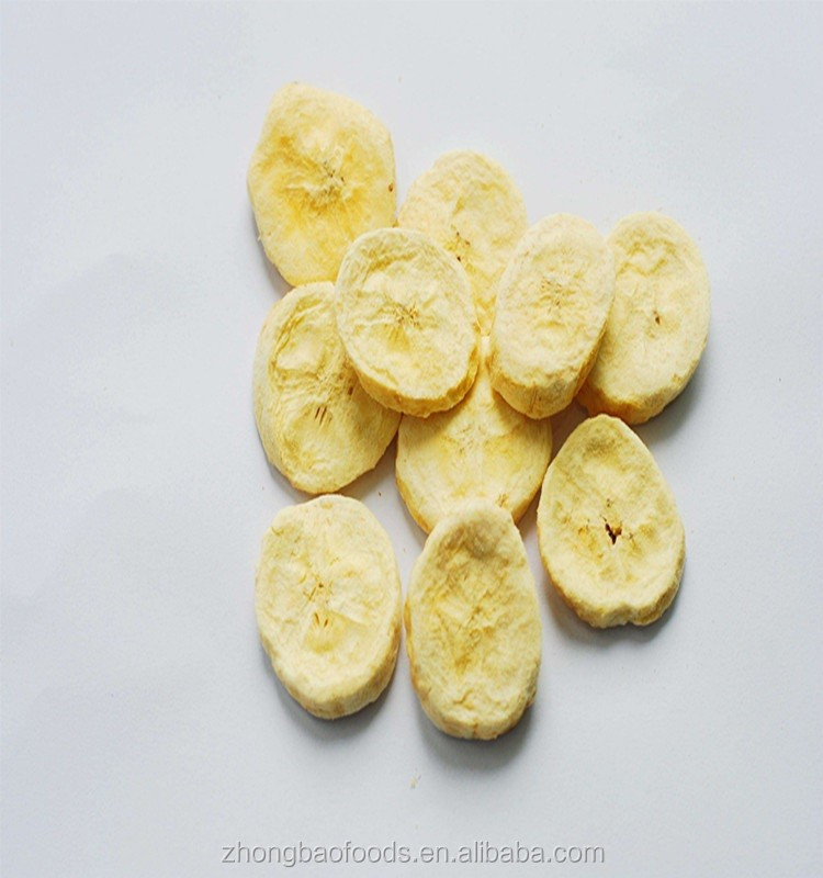 natural sweet freezse dried banana chips wholesale