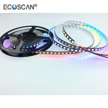 Ecoscan Christmas hot sale dream color underwater IP20 IP65 NanoIP66 IP67 IP68 DC5V 96LED/m 5050 PIXEL-RGB WS2812B led strip