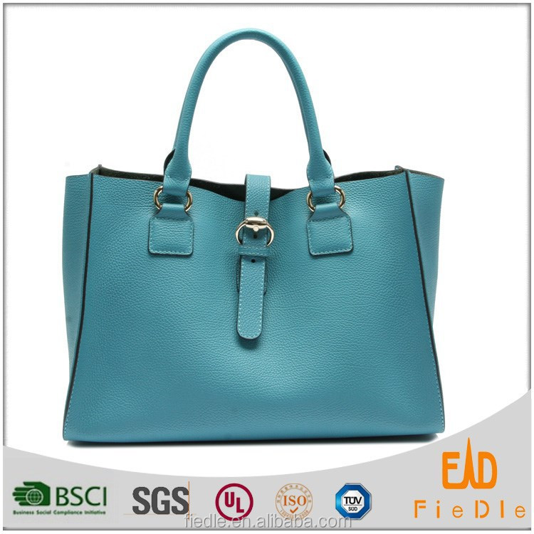 new arrival Raw leather Custom design Promotional ladies Shoulder Bag