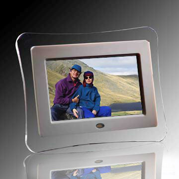 7INCH LCD DIGITAL FOTO FRAME 7 MP3 MP4 MOVIE PLAYER K-1700DPF CADRE PHOTO