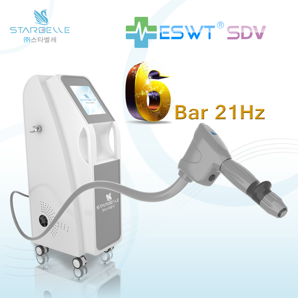 Collagen Remodeling RSWT Fat Shock Wave ESWT Equipment For Fatty Waste Elimination