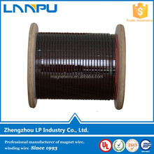 UL Approved Polyamideimide Rectangular Magnet Copper Enameled Wire