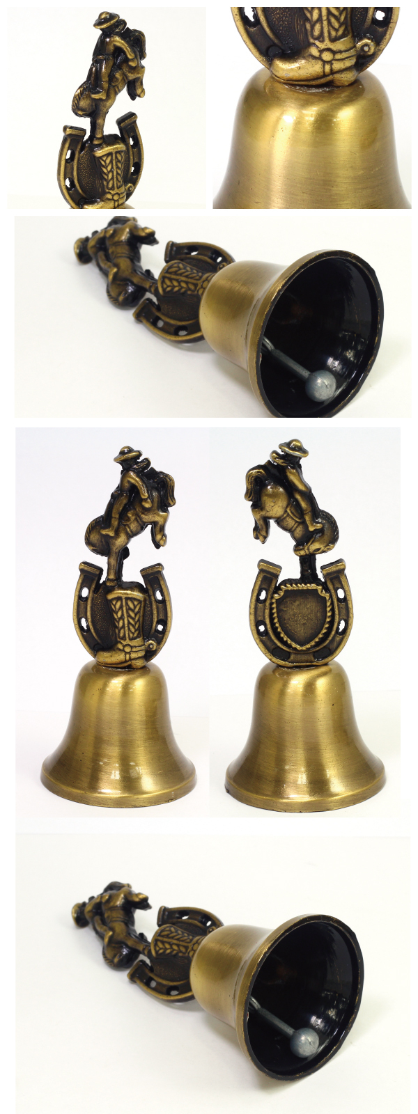 Promotionals Gifts custom metal Souvenir 3D dinner bell