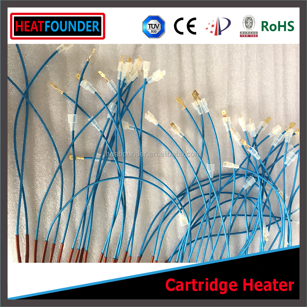 HEATFOUNDER Screw Plug Immersion Cartridge Heater For Plastic Mould Machinery