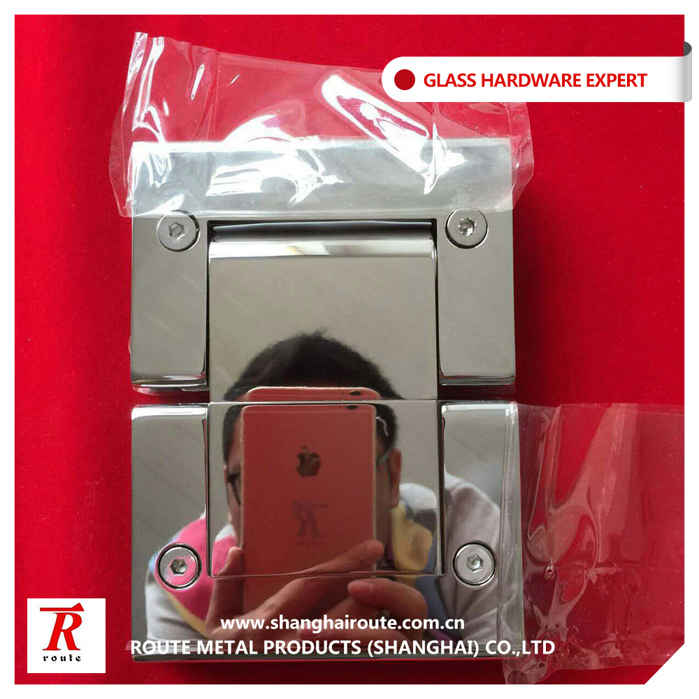 Factory price 304 316 stainless steel hydraulic glass shower door hinge