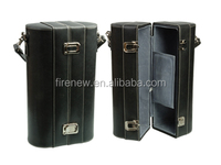 Custom Genuine Leather Double Bottles Wine Carrier