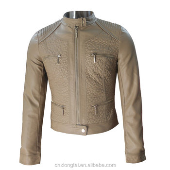 NEW ARRIVALS PU LEATHER QUILTED JACKETS
