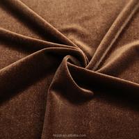 Wholesale polyester/spandex korea silk printed velvet fabric for velvet dresses dining chairs