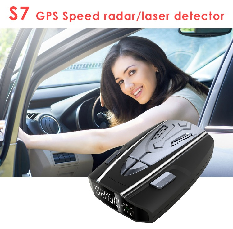 X K Ka Laser Strelka CT full band anti police speed gun radar detector with intermal GPS and 360 degree max coverage