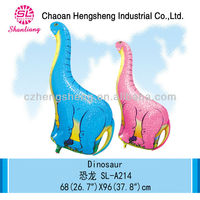 Children inflatable foil dinosaur toy