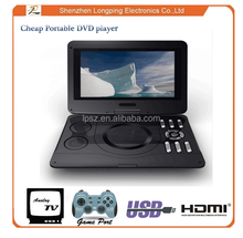 Wholesale DVD Player large screen 11 inch portable DVD player, cheap portable DVD player