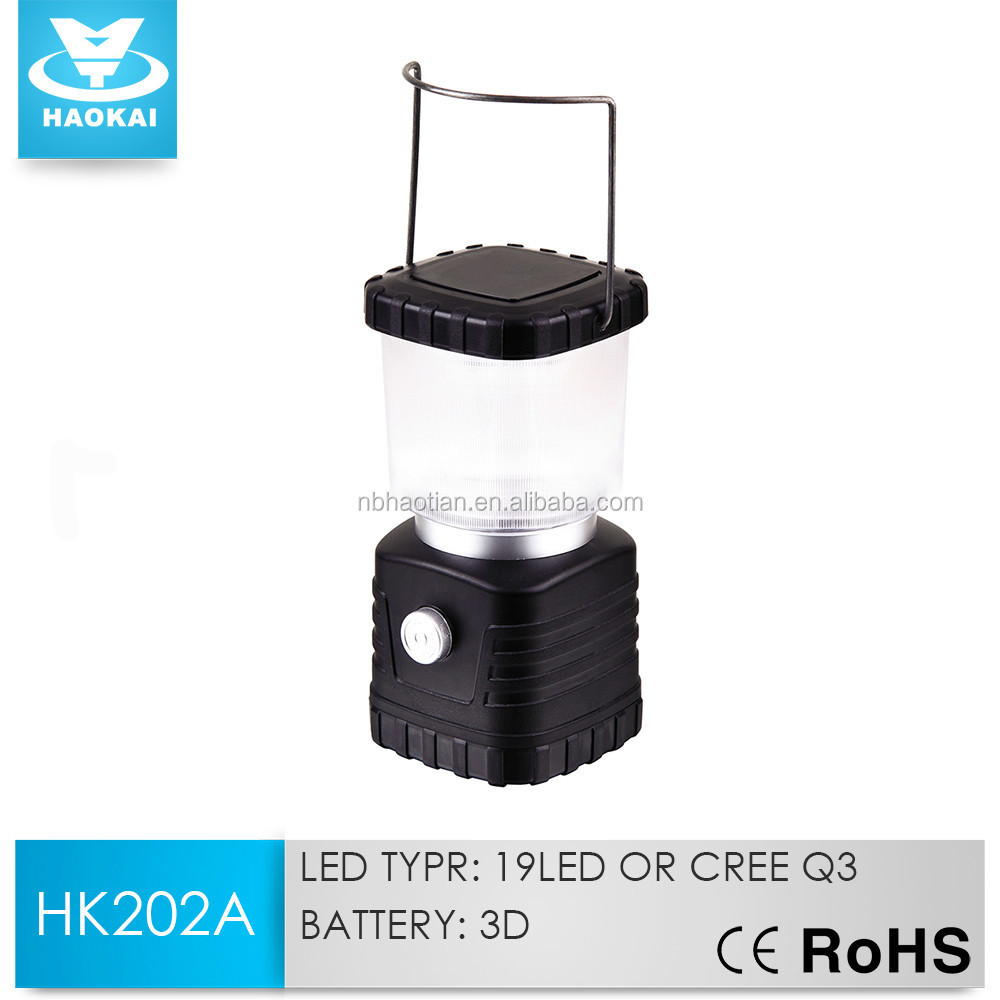 Super BrightSquare Rechargeable 19LED Camping Lantern