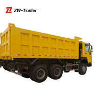 Tipper Truck SINOTRUCK HOWO 10 Wheel Dump Truck For Sale
