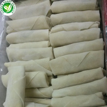 Hot sale high quality earthy delicious frozen vegetable spring roll