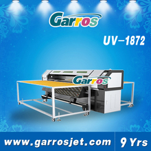 Digital multicolor flatbed uv printing machine for glass wood ceramics tiles materials