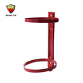 Useful and metal fire extinguisher wall bracket for fire equipment