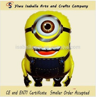 Mylar self Inflating despicable me fly Minion balloons,