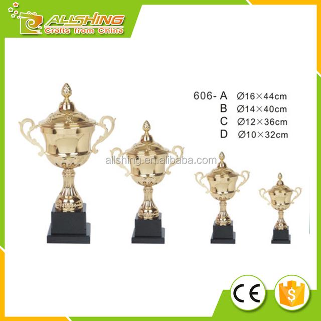 Wholesale big metal award cup in 2016 metal trophy cup awards