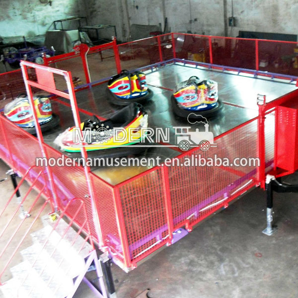 mobile amusement park games equipment front bumpers playground